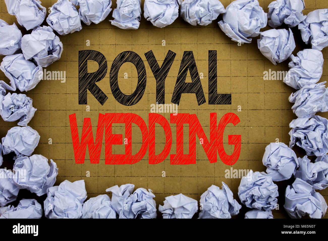 Royal Wedding Business Konzept Fur Britische England Hochzeit Auf