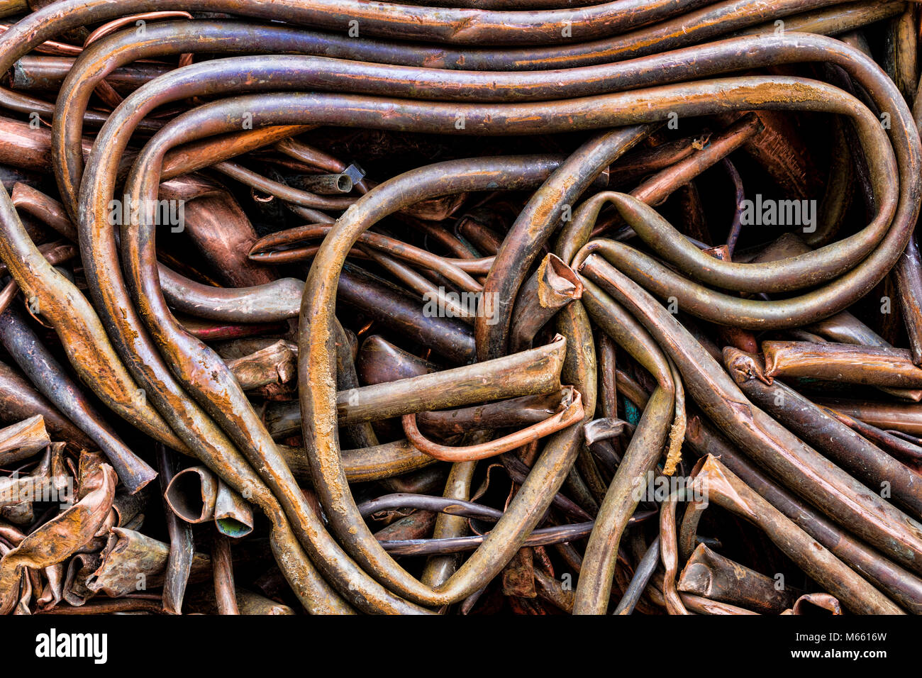 Copper Scrap Metal Stockfotos & Copper Scrap Metal Bilder - Alamy