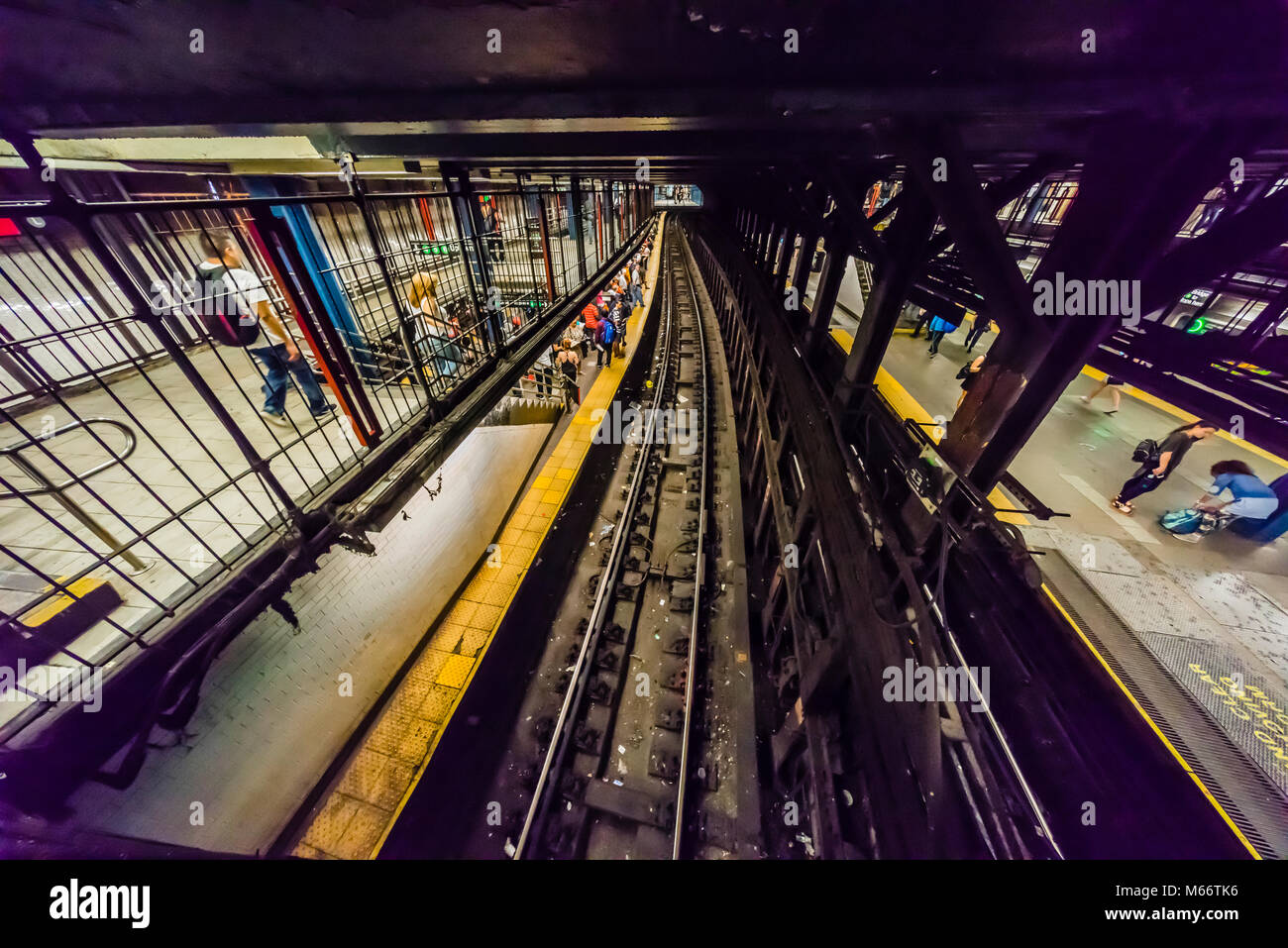 14. Straße - Union Square U-Bahn Station Manhattan_New York, New York, USA Stockfoto