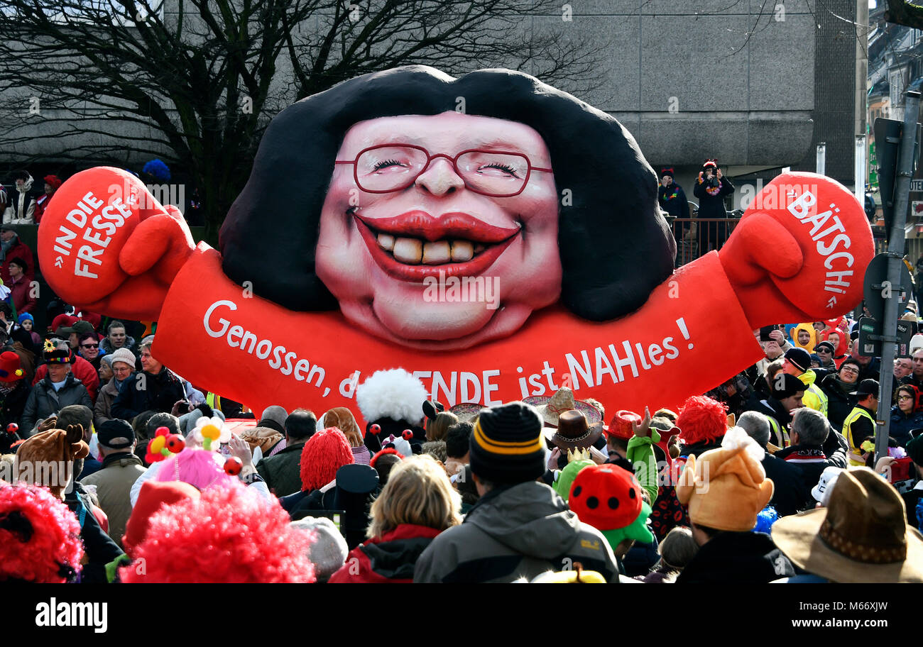 andrea nahles karneval