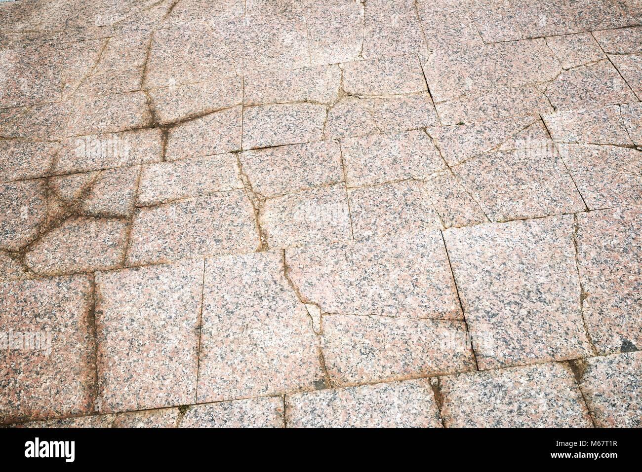 Boden Einer Straße Mit Steinfliesen Stockfoto Bild Alamy - Steinfliesen für den boden