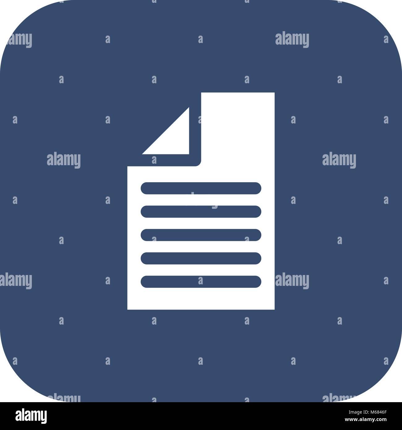 Receipt Flat Icon Stockfotos & Receipt Flat Icon Bilder - Alamy