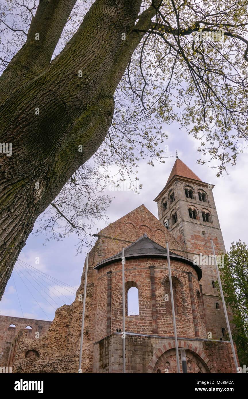 Stiftsruine, Bad Hersfeld, Hessen, Deutschland, Europa Stockbild