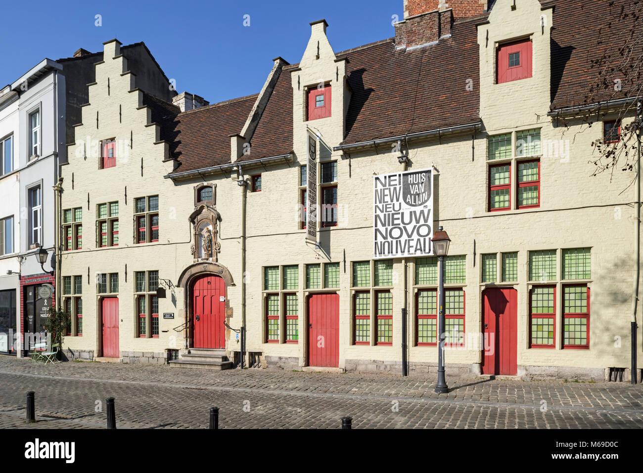 Huis van alijn alijn krankenhaus mittelalterliches haus von alijn