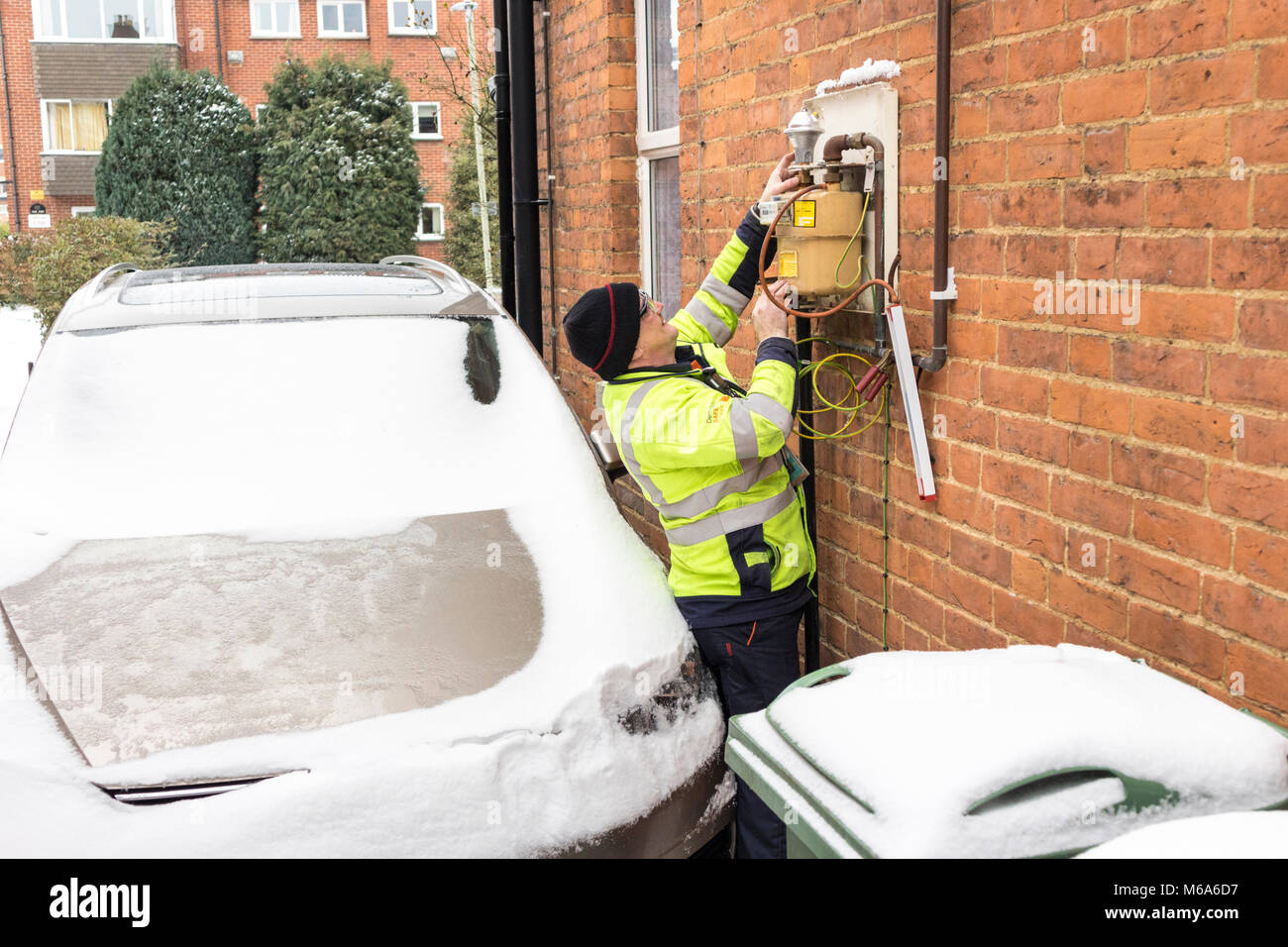 Gas In Houses Stockfotos & Gas In Houses Bilder - Alamy