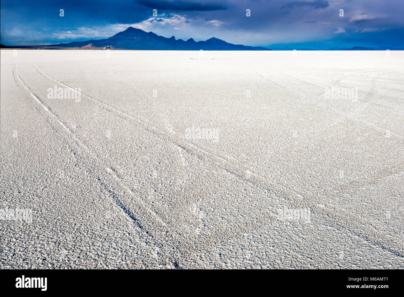 Auto Titel Am Salzsee In Bonneville Salt Flats State Park
