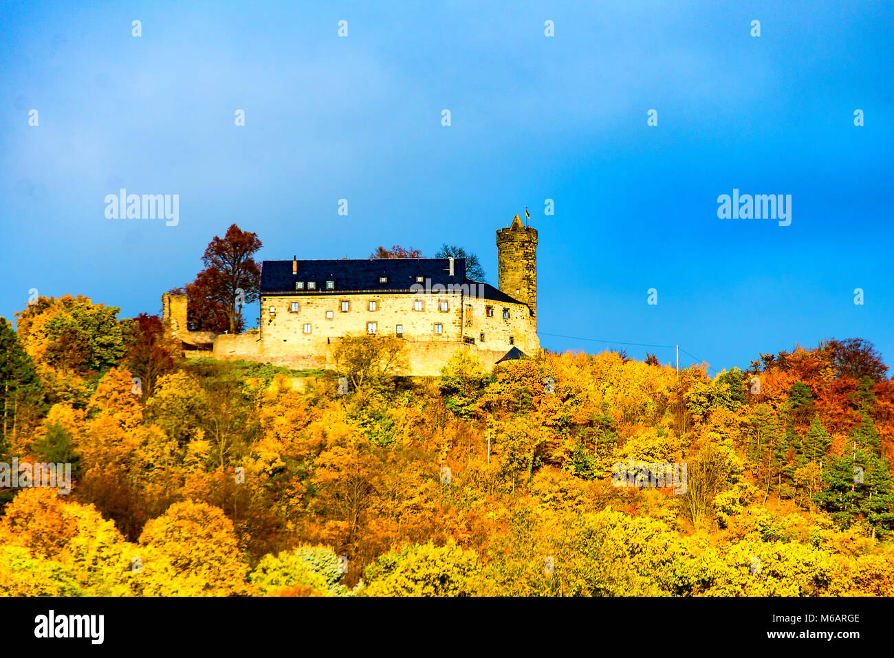 Greifenstein stockfotos greifenstein bilder alamy for Burg greifenstein bad blankenburg
