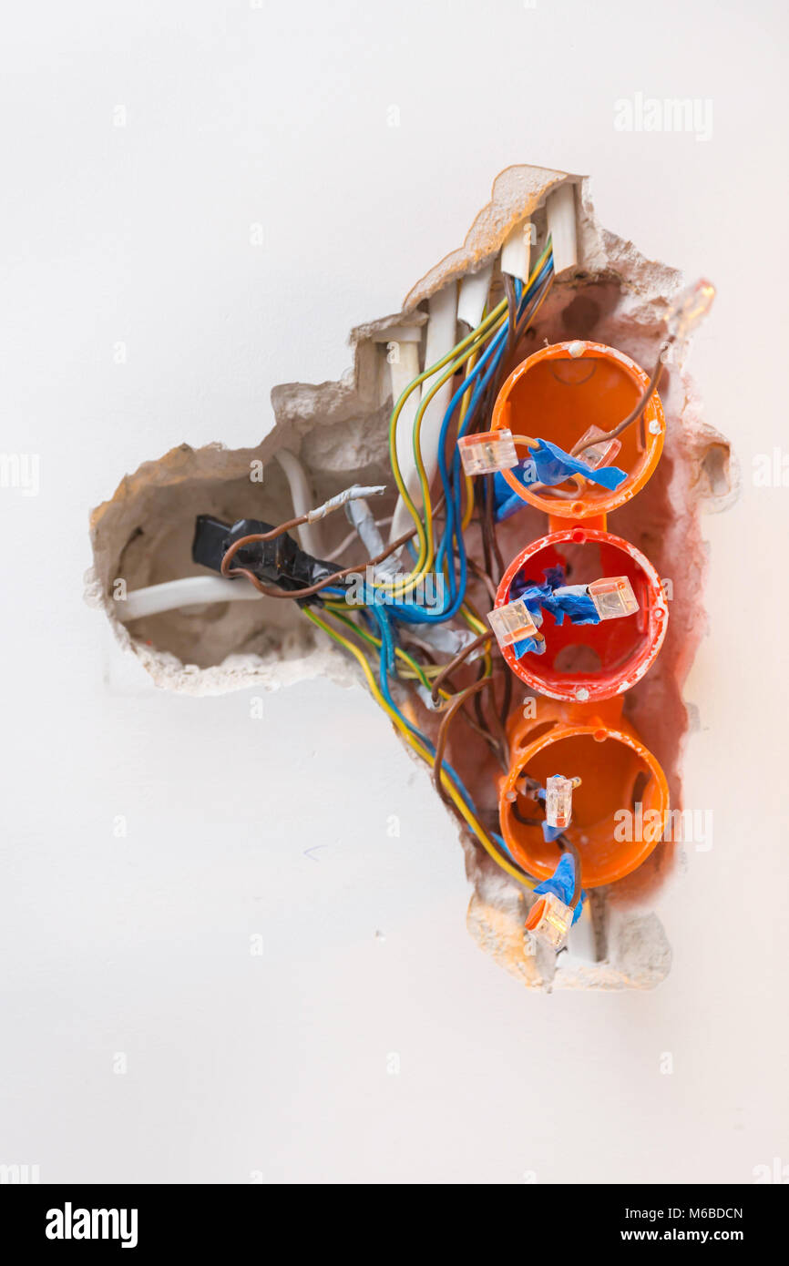 Electrical Wiring Stockfotos & Electrical Wiring Bilder - Seite 18 ...