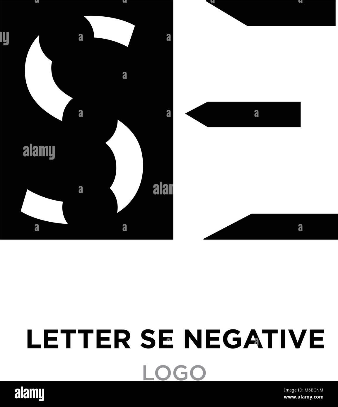 Zusammenfassung schreiben SE negative Logo auf weissem Hintergrund ...