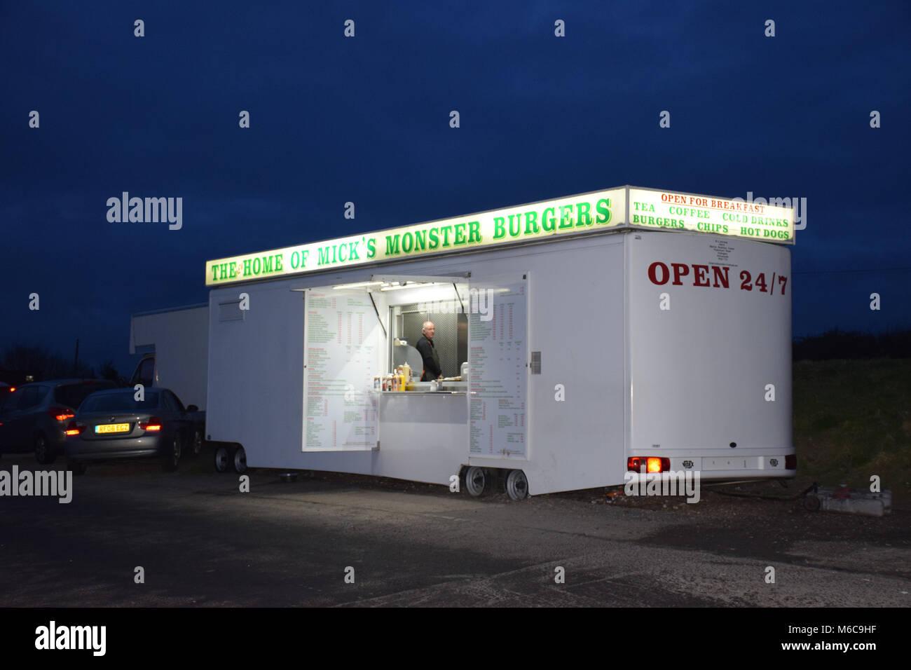 Burger Bar Stockfotos & Burger Bar Bilder - Alamy