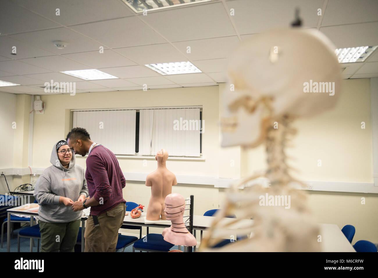 Anatomy Lesson University Stockfotos & Anatomy Lesson University ...