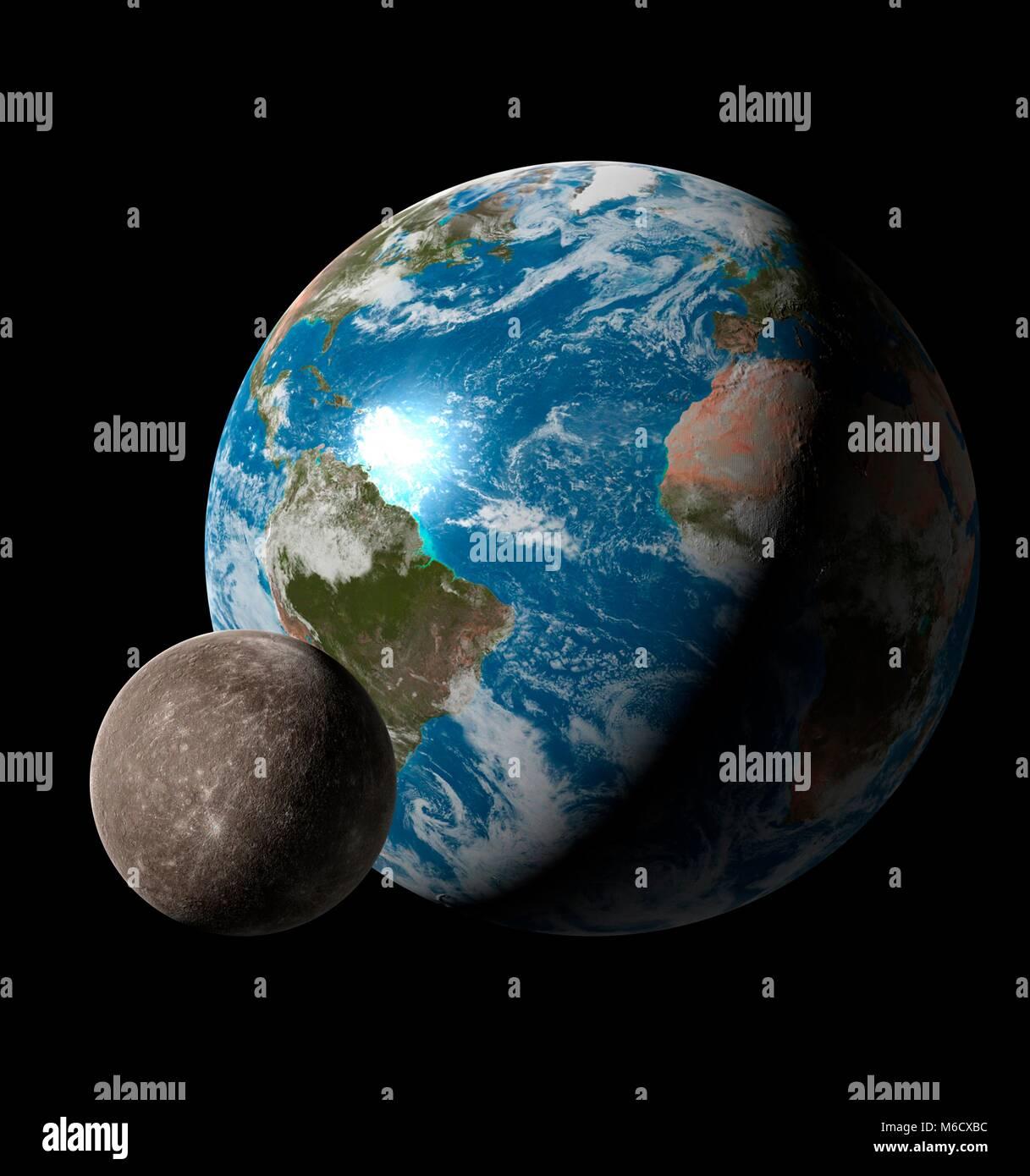 Entfernung Sonne Merkur