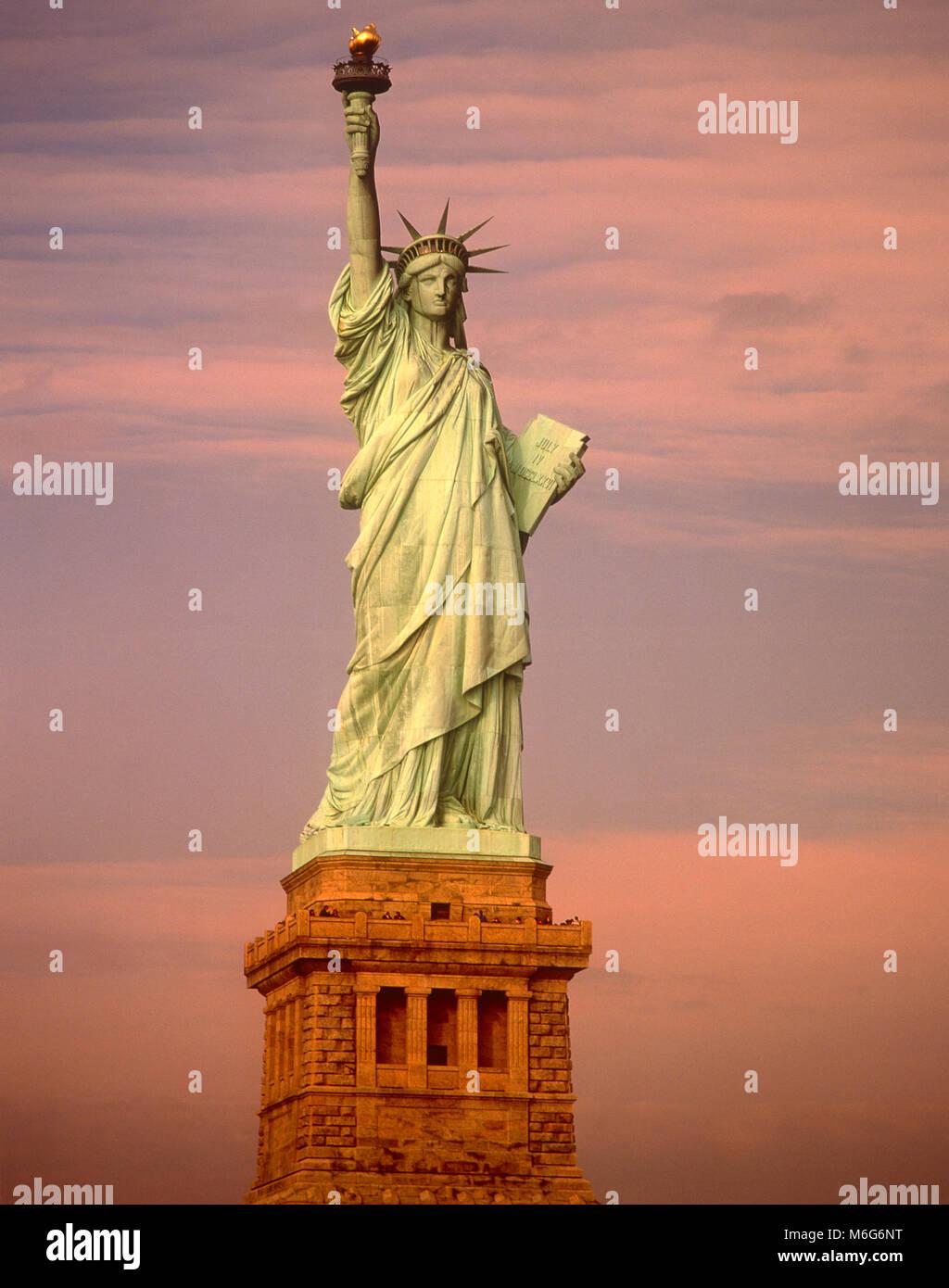 Statue of Liberty, Liberty Island, New York, USA Stockbild