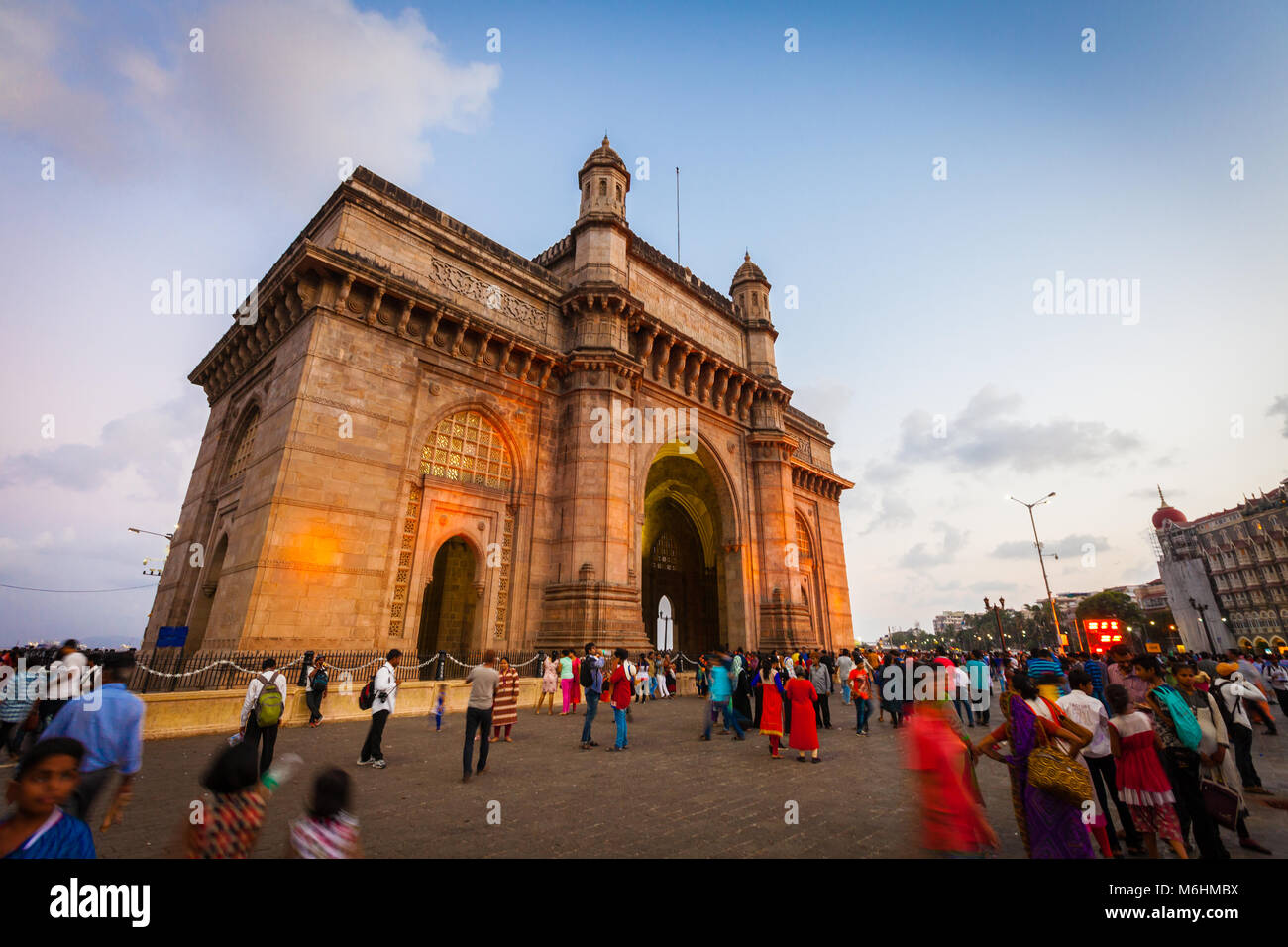 Gateway of India, Mumbai, Indien Stockbild