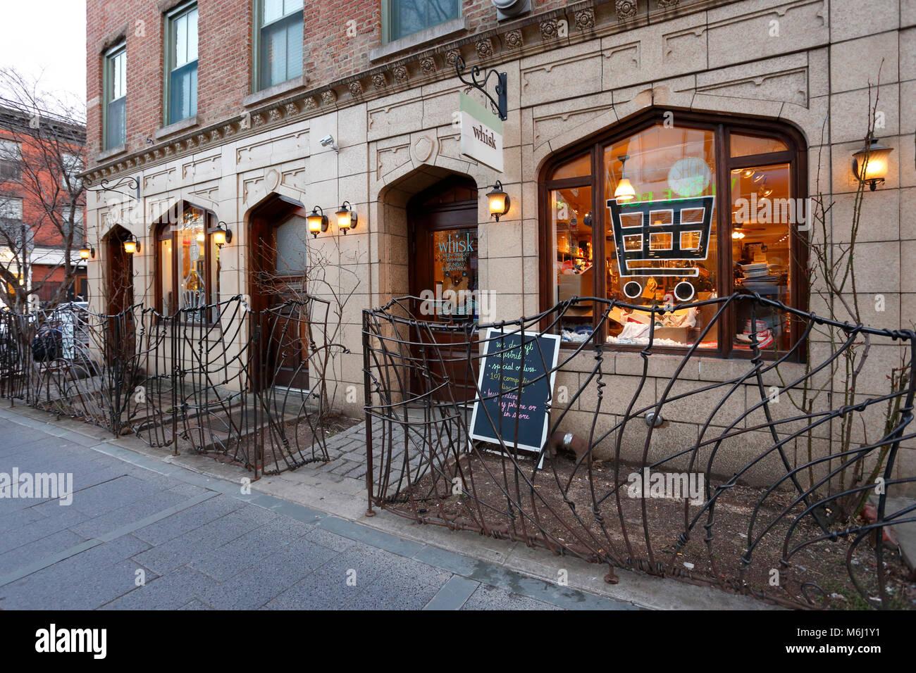 Schneebesen, 231 Bedford Ave, New York, NY. aussen Storefront von zu Hause gute Store in Williamsburg Stockfoto