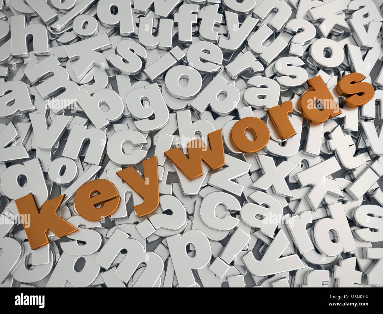 Word In 3d Letters On Stockfotos & Word In 3d Letters On Bilder - Alamy