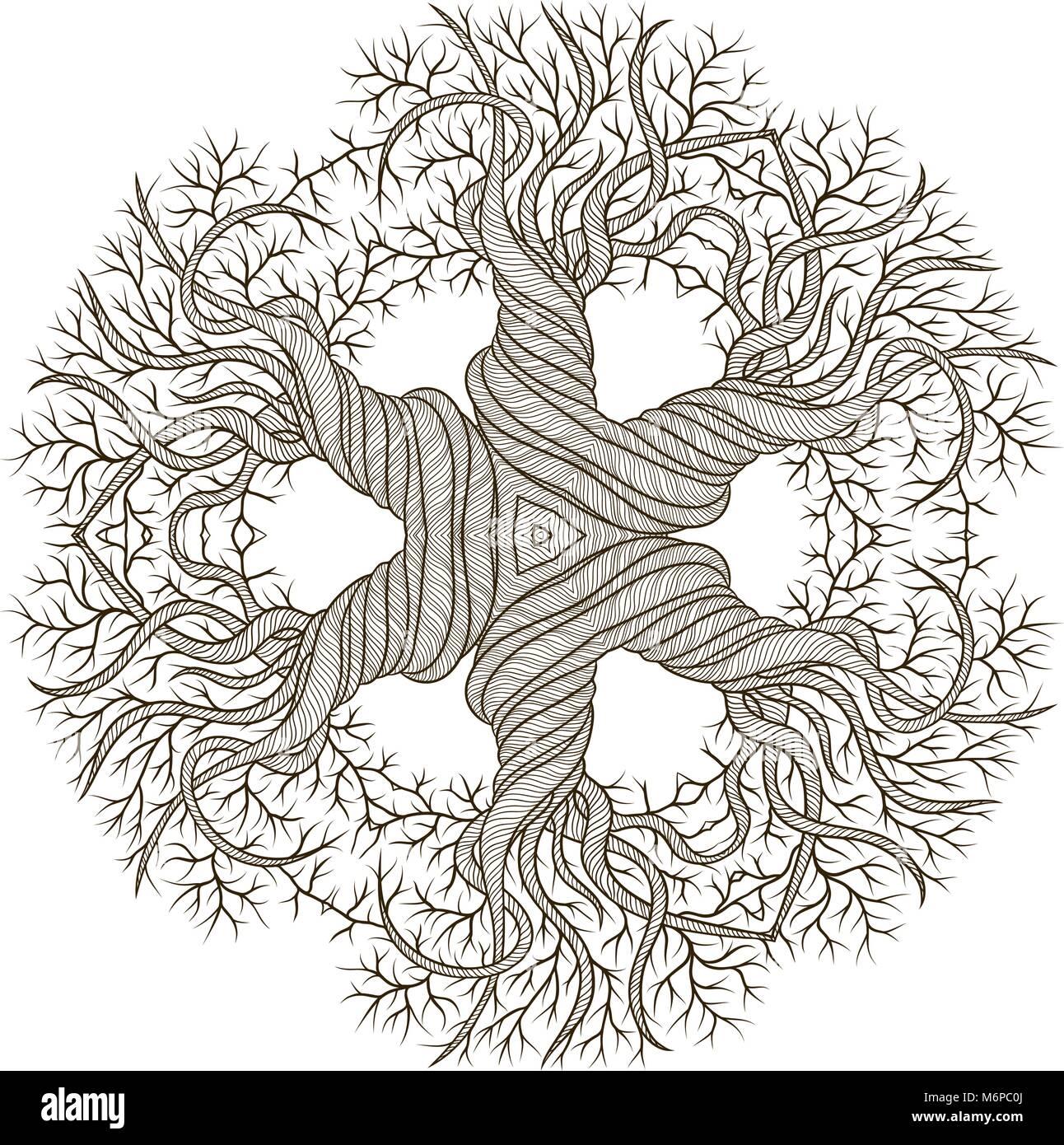 Ungewöhnlich Abstrakte Baum Malvorlagen Galerie - Entry Level Resume ...