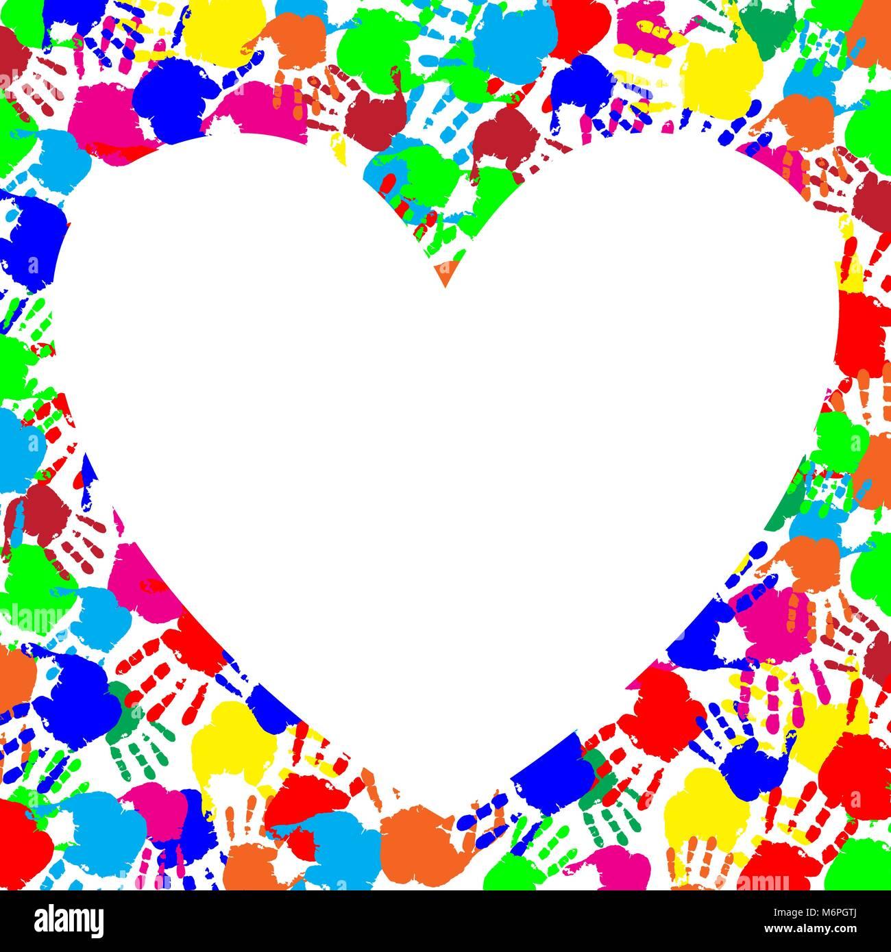 Heart Shape Photo Frames Stockfotos & Heart Shape Photo Frames ...