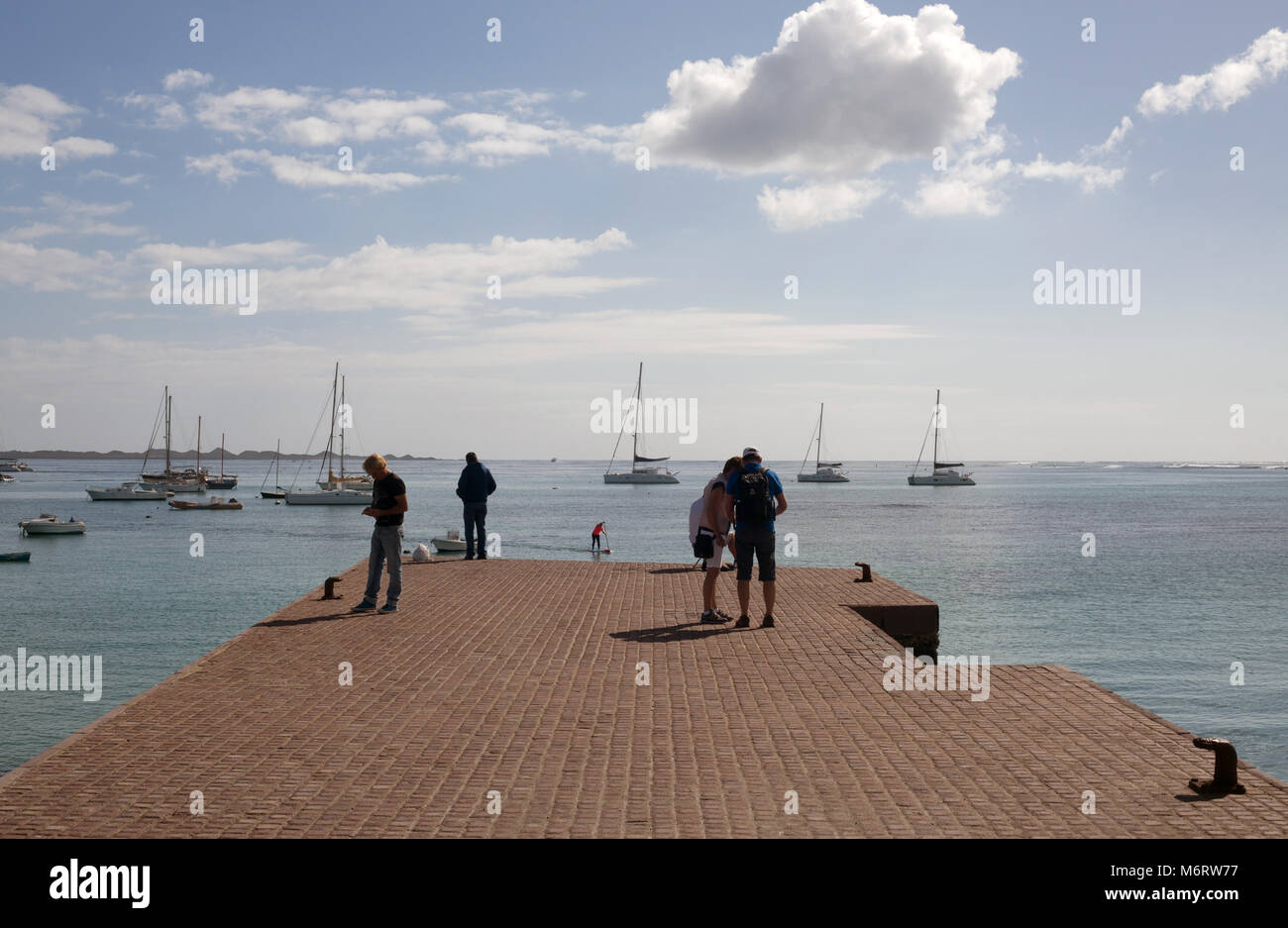 Corralejo, Fuerteventura, Kanarische Inseln. Stockbild