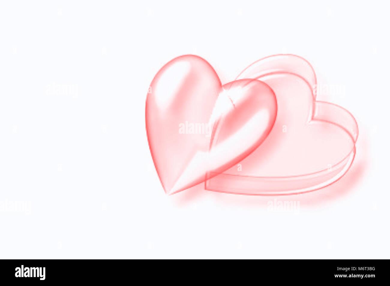 Paar Liebe Hand Herz Gezeichnet Rote Herzen Silhouette Hochzeit