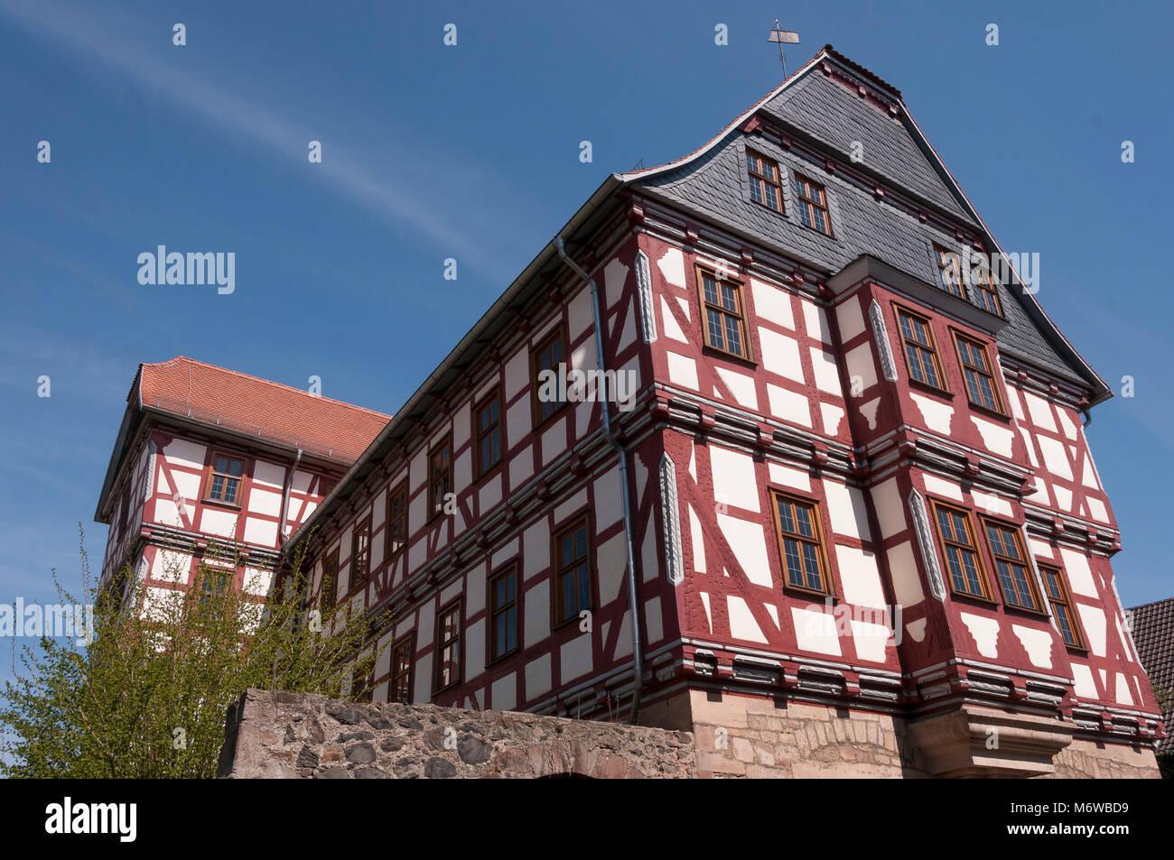 Fritzlar, Hochzeitshaus, Hessen, Deutschland, Europa Stockbild
