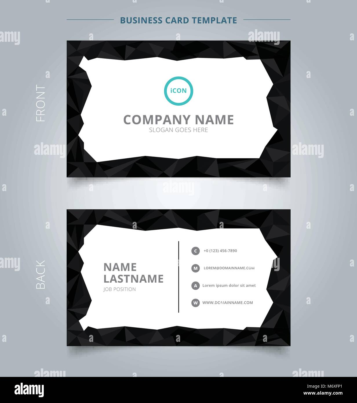 Ziemlich Business Karten Vorlage Fotos - Beispiel Anschreiben für ...