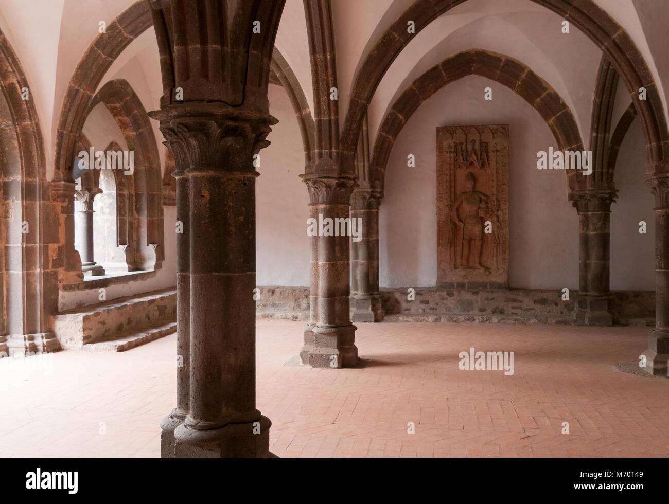 Kloster Arnsburg, Hessen, Deutschland, Europa Stockbild
