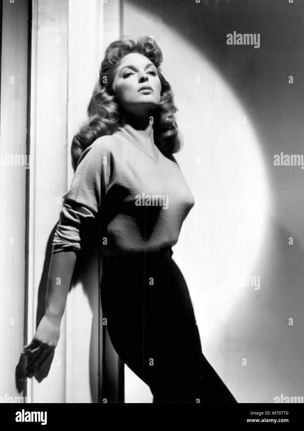 JULIE LONDON (1926-2000), US-amerikanische Sängerin und Schauspielerin über 1958 Stockfoto