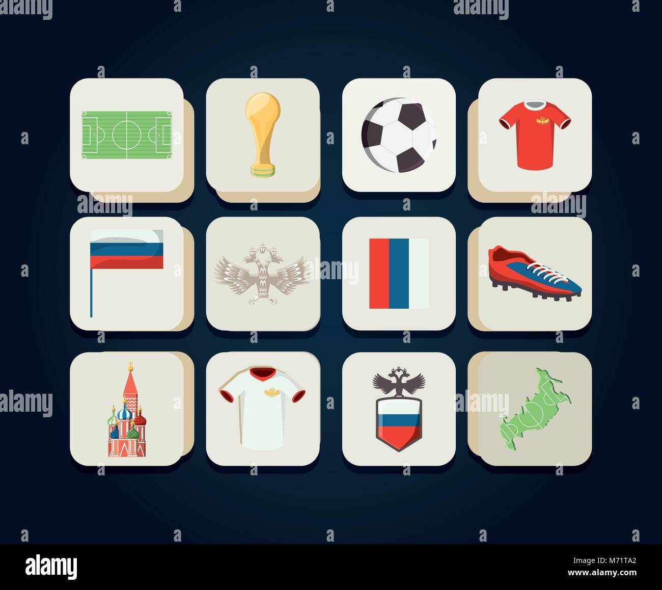 Berühmt Leere Fußball Quadrate Vorlage Galerie ...