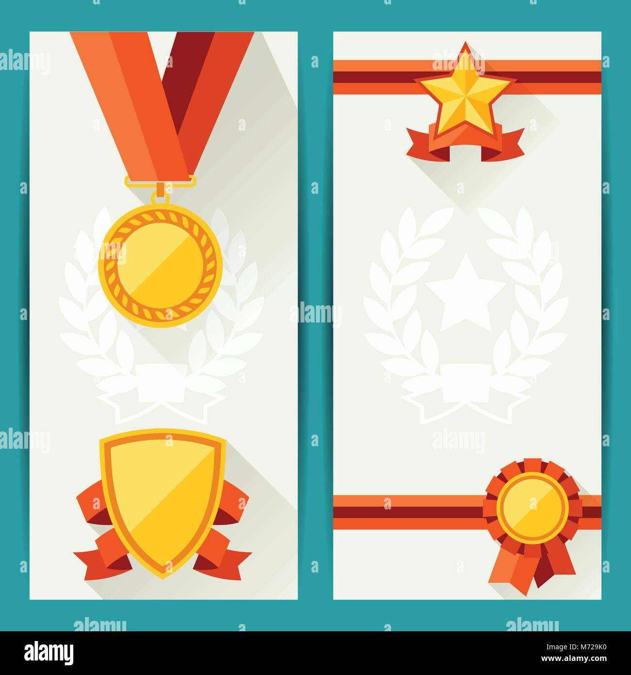 Certificate Icon In Simple Style Stockfotos & Certificate Icon In ...