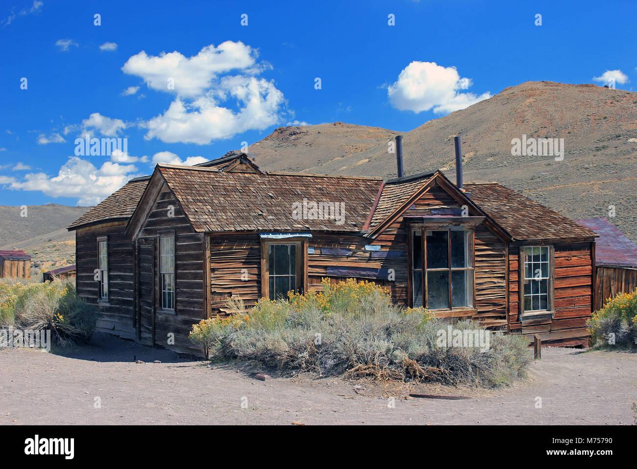 Kalifornien Geisterstadt Bodie Stockbild