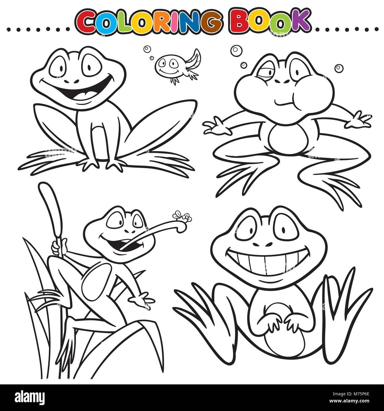 Fantastisch Malbuch Frosch Bilder - Malvorlagen Von Tieren - ngadi.info