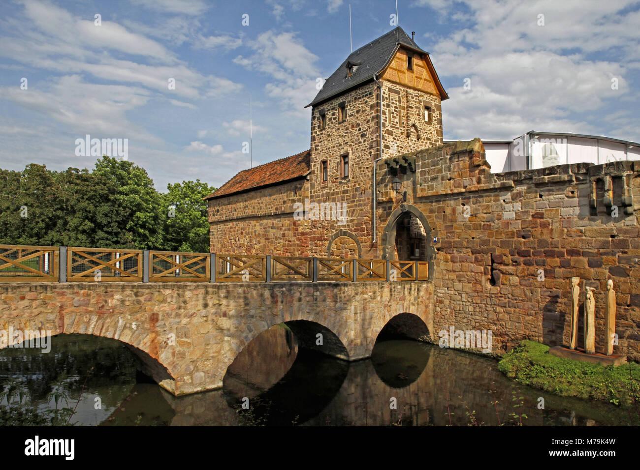 Castle Bad Vilbel Stockfotos Castle Bad Vilbel Bilder Alamy