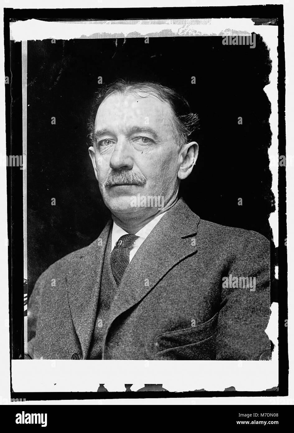 Herr de Lanay Gill, Büro Standort. Etymologie LCCN 2016821491 Stockbild