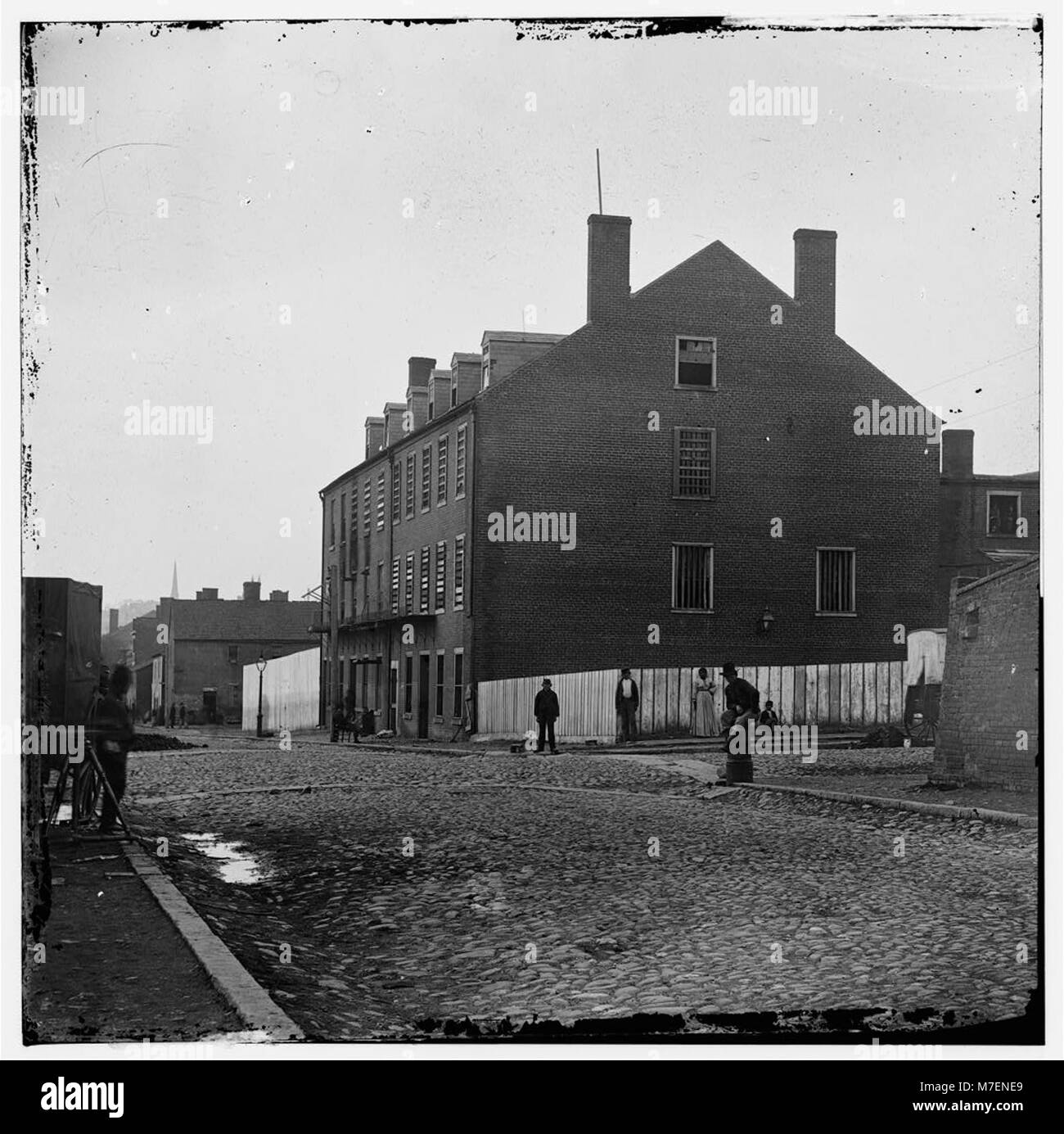 Richmond, Virginia. Schloss Donner. (Cary Street) (umgerechnet Tabak ...