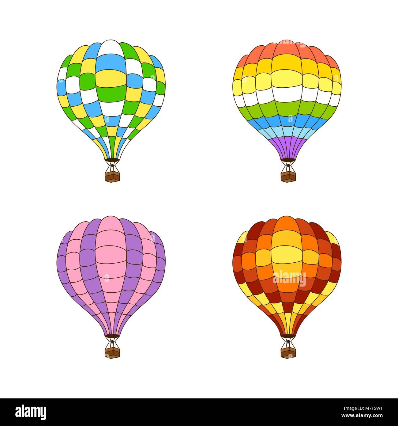 Großzügig Heißluftballon Färbung Bilder - Malvorlagen Von Tieren ...