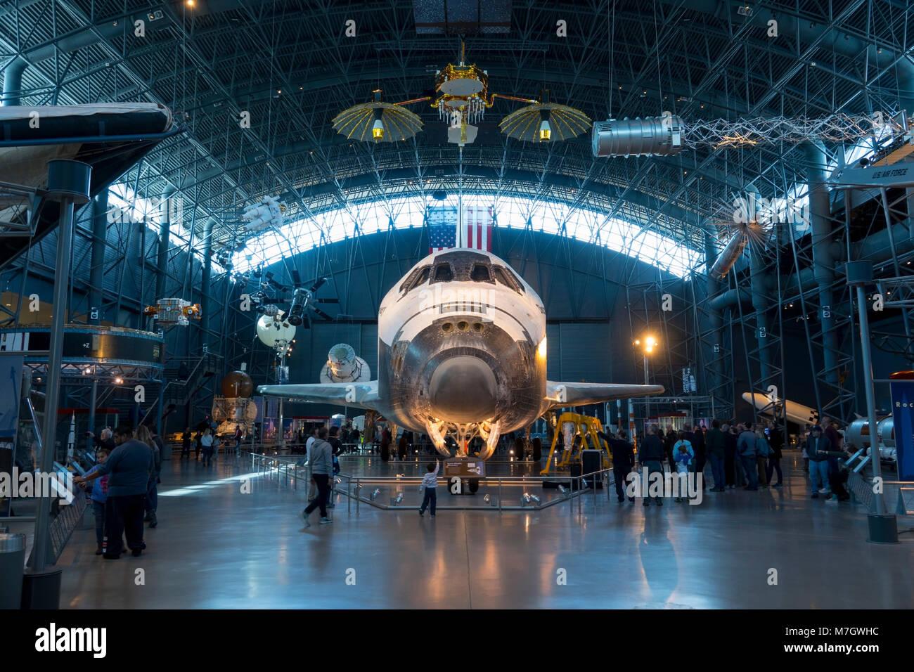 Space Shuttle Exhibit Stockfotos Space Shuttle Exhibit Bilder