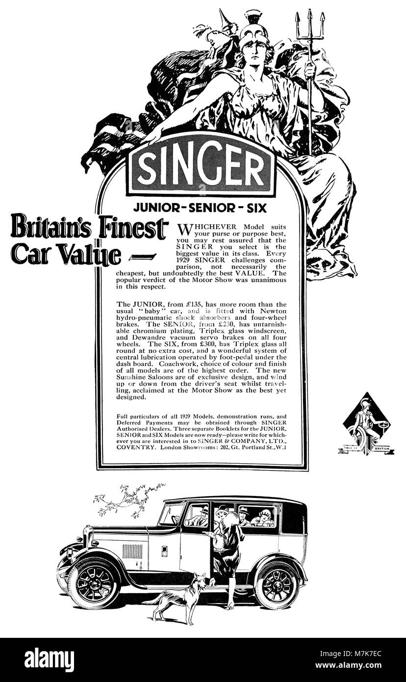 1920s car advertisement stockfotos 1920s car advertisement bilder alamy. Black Bedroom Furniture Sets. Home Design Ideas