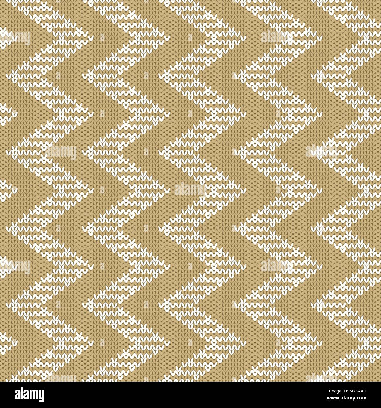 wiederholen gestrickte nahtlose muster mit zickzack kammgarn textur mit einem jacquard muster abstrakte winterurlaub design pullover ornament - Jacquard Muster