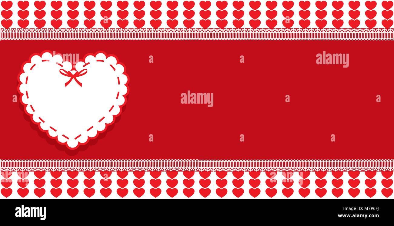 Valentinstag Oder Hochzeit Liebe Mit Platz Fur Text Vorlage Und