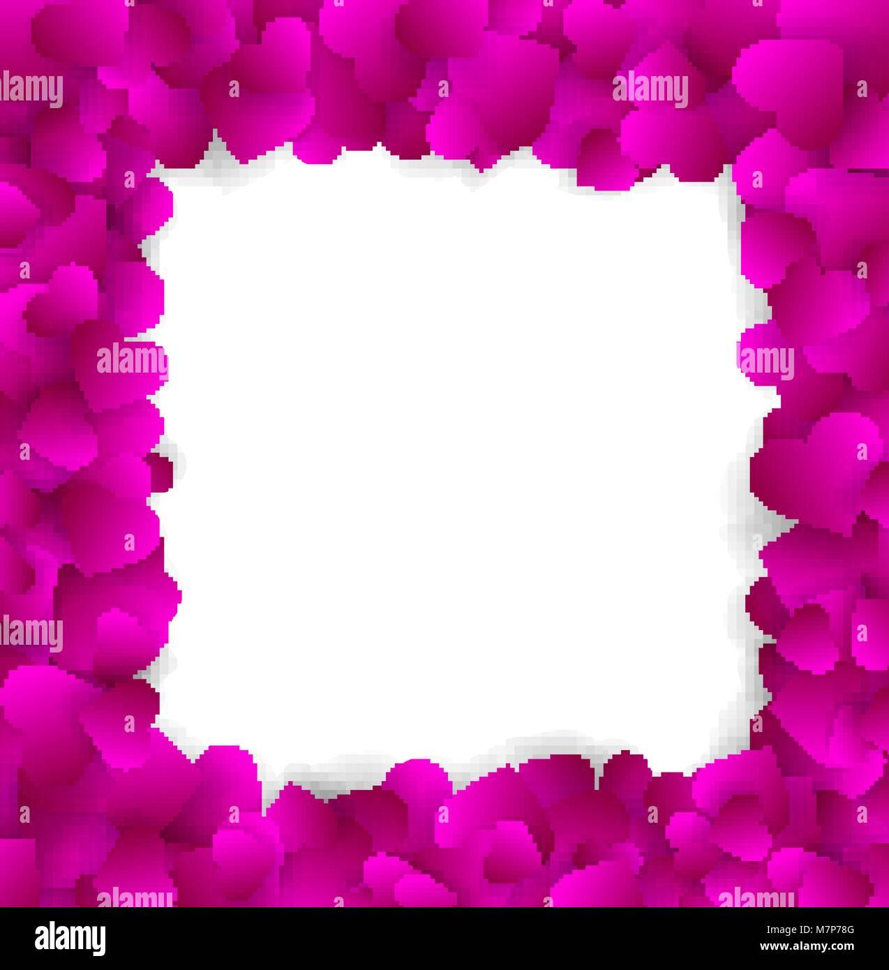 Heart Confetti Background Stockfotos & Heart Confetti Background ...