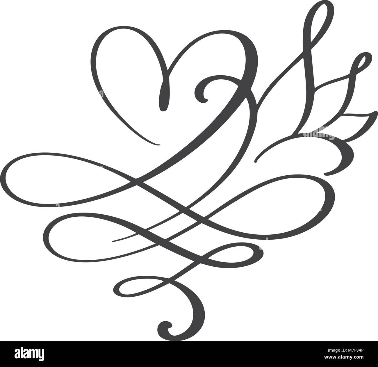 Herz Liebe Zeichen für immer. Infinity romantische Symbol verknüpft ...