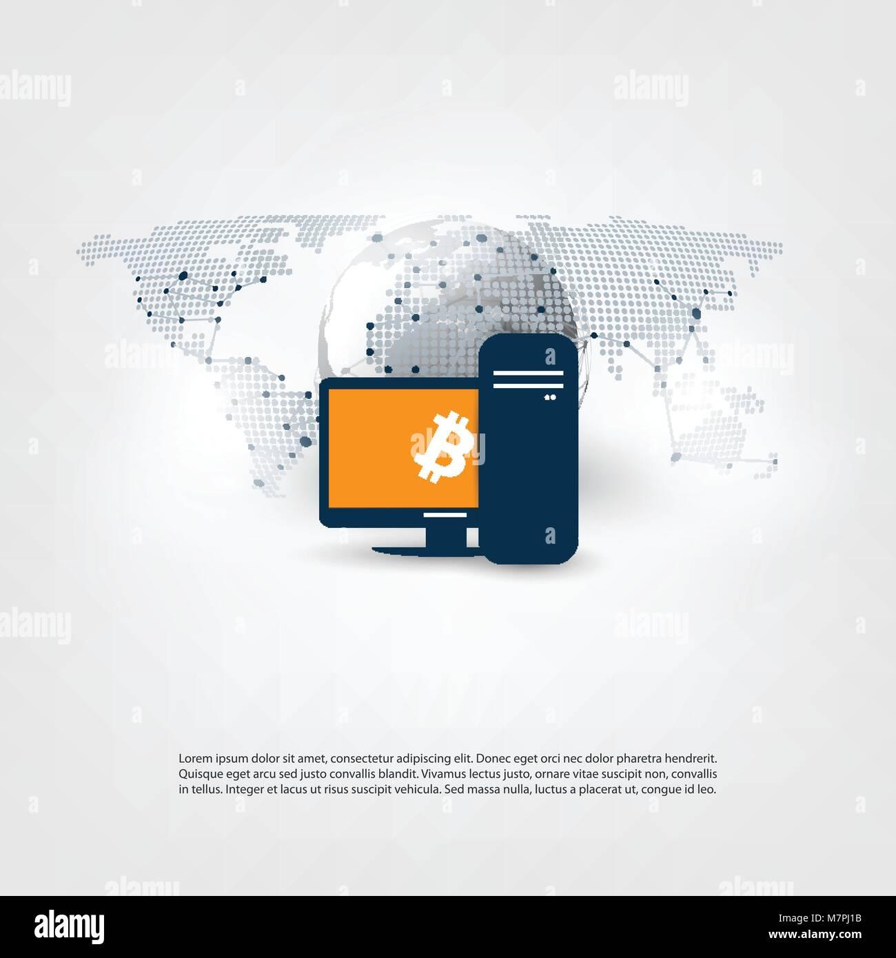 Netzwerke Business Und Globale Finanzielle Verbindungen