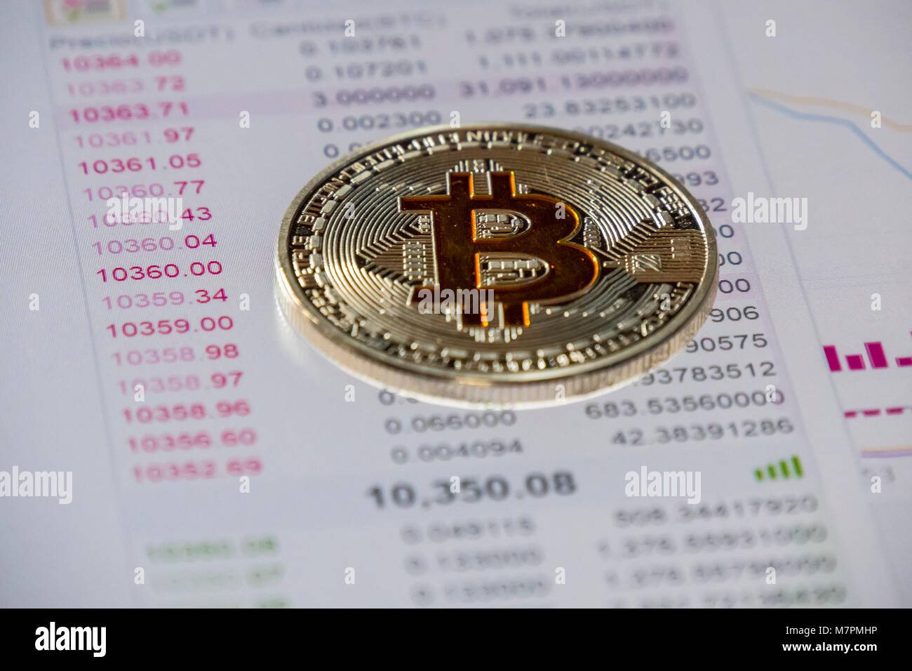 Tron Cryptocurrency Stockfotos Tron Cryptocurrency Bilder Alamy