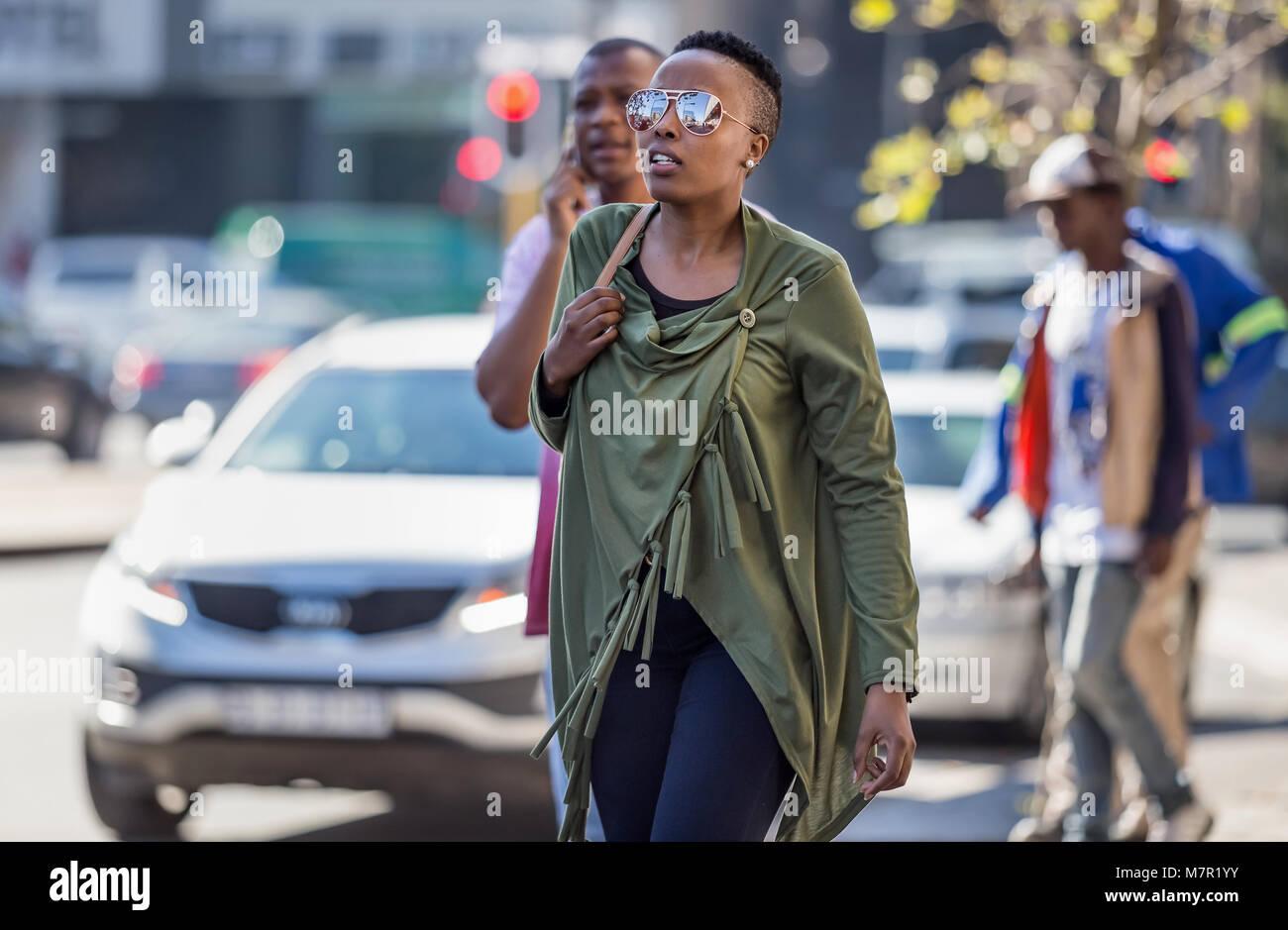 Johannesburg Südafrika Frauen