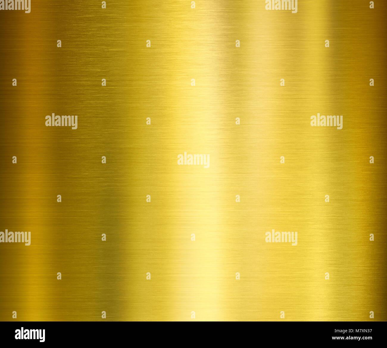 Gold Metall Textur Stockbild