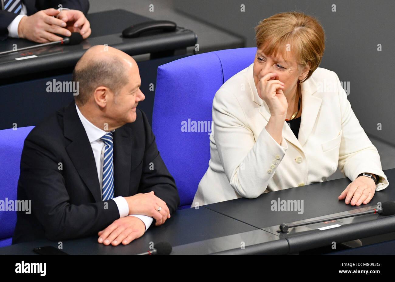 14 März 2018 Berlin Bundeskanzlerin Bundeskanzlerin Angela Merkel