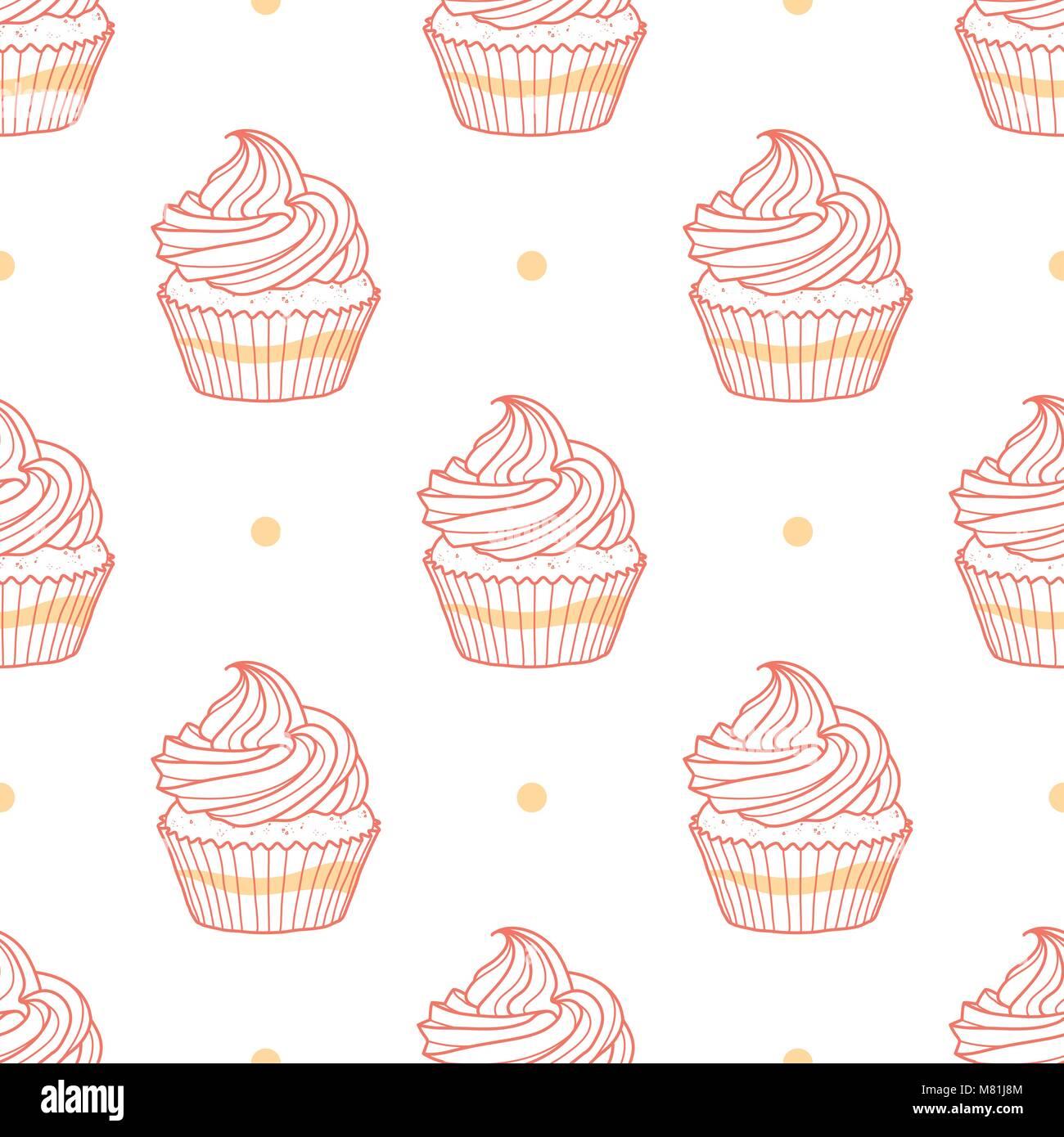 Ungewöhnlich Cupcakes Malvorlagen Süß Zeitgenössisch - Druckbare ...