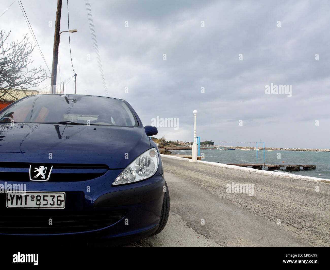 peugeot 307 stockfotos peugeot 307 bilder alamy. Black Bedroom Furniture Sets. Home Design Ideas