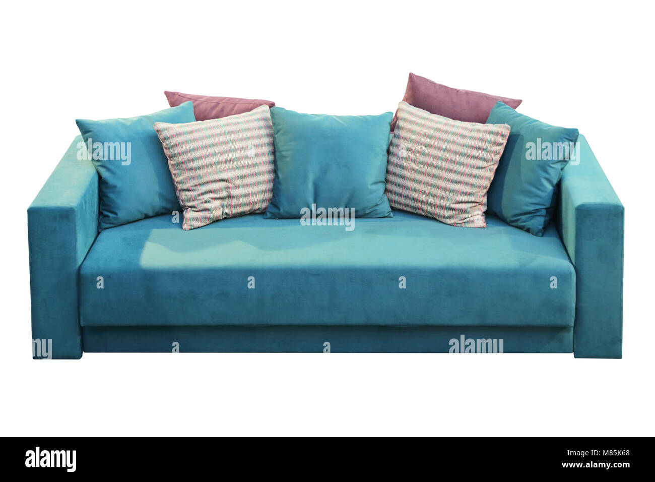 Velvet Sofa Stockfotos & Velvet Sofa Bilder - Alamy